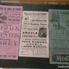 Carteles Toros: CARTELES DE TOROS VARIADOS . Lote 95005235