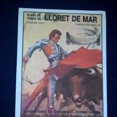 Plakate Stiere - CARTEL PLAZA DE TOROS LLORET DE MAR – MEDIDAS 27X14 CM. - 95317143