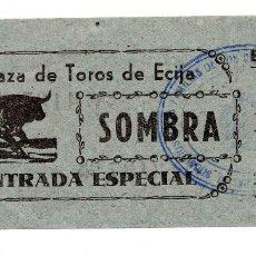 Carteles Toros: ENTRADA DE TOROS ÉCIJA. Lote 96530247