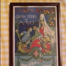Carteles Toros: CARTEL GALLITO. FERIA DE CORDOBA 1919. Lote 98234927