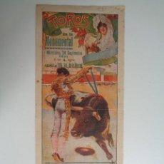 Carteles Toros: TOROS EN LA MONUMENTAL.BARCELONA.1924.-C233. Lote 100334695