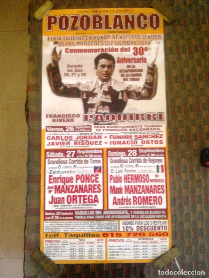 Carteles Toros: COSO DE LOS LLANOS. POZOBLANCO. - Foto 2 - 101708811