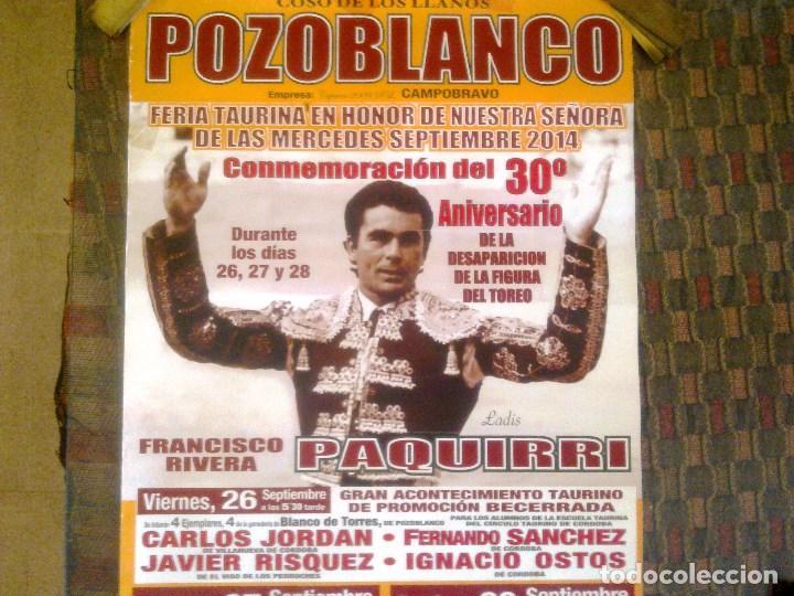 Carteles Toros: COSO DE LOS LLANOS. POZOBLANCO. - Foto 3 - 101708811