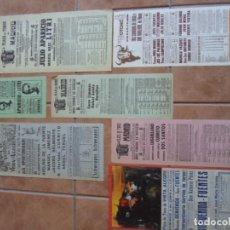 Carteles Toros: LOTE CARTELES TOROS PLAZAS COMUNIDAD DE MADRID. Lote 102471223