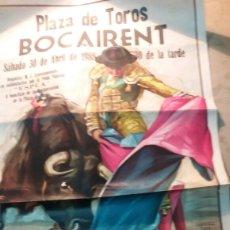 Carteles Toros: PLAZA DE TOROS BOCAIRENT 1988. Lote 119387738