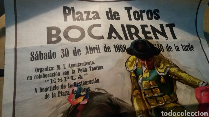 Carteles Toros: Plaza de Toros Bocairent 1988 - Foto 2 - 119387738