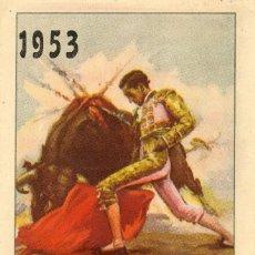 Carteles Toros: POGRAMA DE MANO TOROS CAZALLA DE LA SIERRA FERIAS 1953. Lote 102731747