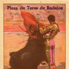 Carteles Toros: PROGRAMA DE MANO PLAZA DE TOROS DE BADAJOZ FERIAS Y FIESTAS JUNIO 1949. Lote 102733543