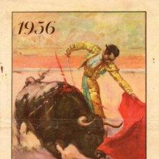 Carteles Toros: PROGRAMA DE MANO PLAZA DE TOROS CAZALLA DE LA SIERRA FIESTAS DE AGOSTO 1956. Lote 102734279