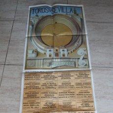 Carteles Toros: CARTLE DE TOROS DE SEVILLA. 2000. CURRO ROMERO, MORANTE DE LA PUEBLA, ENRIQUE PONCE, PEPE L. VÁZQUEZ. Lote 102743071
