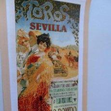 Carteles Toros: CARTEL DE TOROS EN SEVILLA ABRIL 1999 MEDIDAS 45X23 CM. Lote 102823207