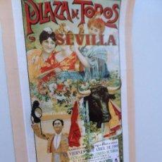 Carteles Toros: CARTEL DE TOROS EN SEVILLA ABRIL 1999 MEDIDAS 45X23 CM. Lote 102823527