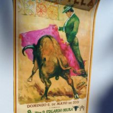 Carteles Toros: CARTEL DE TOROS EN SEVILLA ABRIL 2001 MEDIDAS 23X46 CM. Lote 102835611