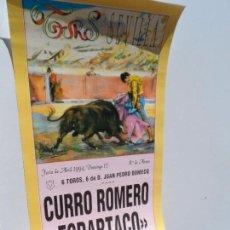 Carteles Toros: CARTEL DE TOROS EN SEVILLA ABRIL 1994 MEDIDAS 44X21 CM. Lote 102841007
