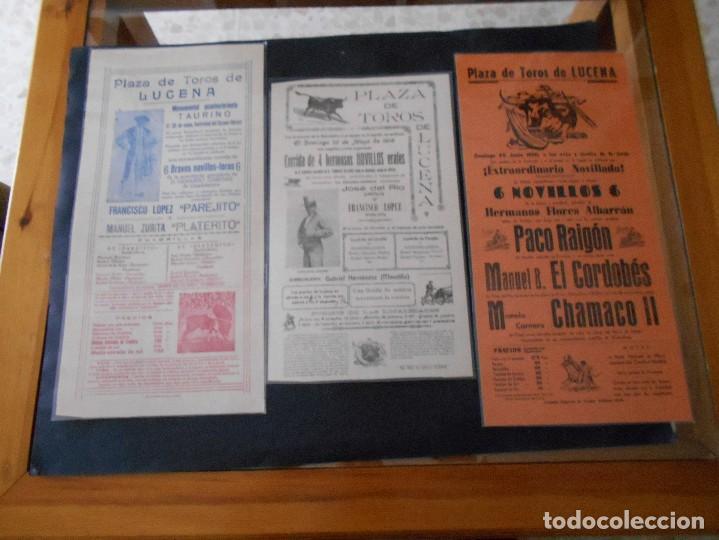 CARTELES DE TOROS ANTIGUOS LOTE (Coleccionismo - Carteles Gran Formato - Carteles Toros)