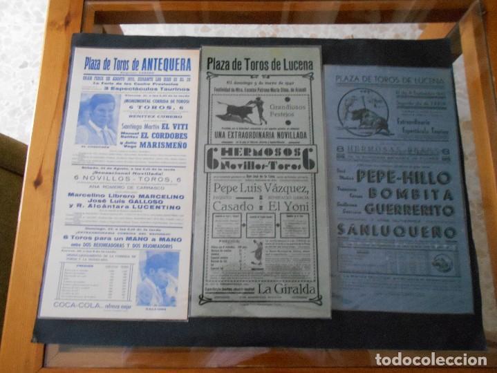 Carteles Toros: carteles de toros antiguos lote - Foto 3 - 103139311
