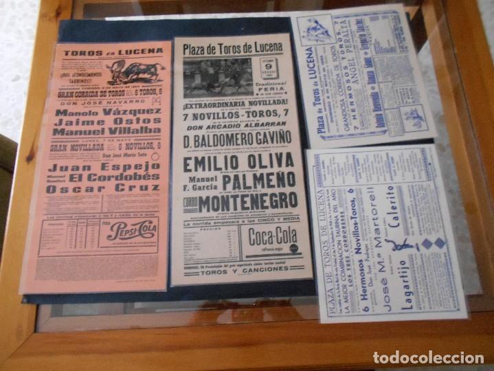 Carteles Toros: carteles de toros antiguos lote - Foto 5 - 103139311
