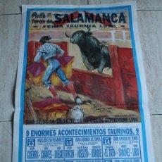 Plakate Stiere - Cartel de toros de Salamanca. Feria Taurina 1996. Enrique Ponce, César Rincón - 103656455
