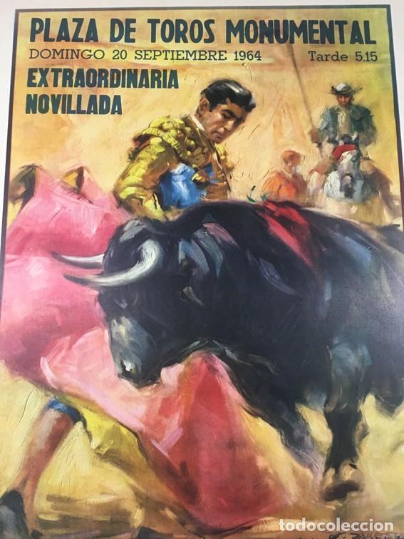 Carteles Toros: Cartel PLAZA DE TOROS MONUMENTAL. BARCELONA - Foto 2 - 182410980