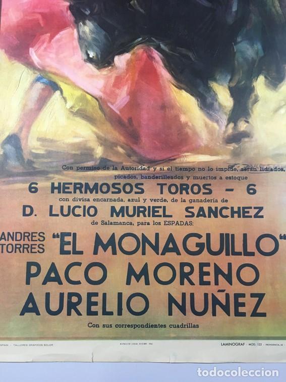 Carteles Toros: Cartel PLAZA DE TOROS MONUMENTAL. BARCELONA - Foto 3 - 182410980