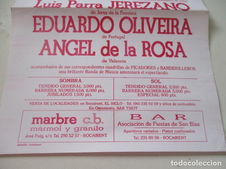 Carteles Toros: CARTEL DE TOROS DE BACAIRENT- 1993- MIDE 31X22 CM. - Foto 2 - 109032399