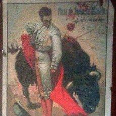 Carteles Toros: CARTEL TOROS PLAZA ALICANTE AÑO 1935. Lote 111888875