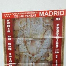Carteles Toros: CARTEL TOROS MADRID SAN ISIDRO 2014 . Lote 112272919