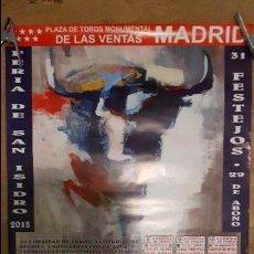 Carteles Toros: CARTEL TOROS MADRID SAN ISIDRO. Lote 112273203