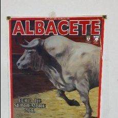 Carteles Toros: CARTEL TOROS ALBACETE 2011. Lote 112274787