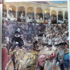 Carteles Toros: POSTER SOROLLA LOS TOREROS SEVILLA 1915 VISION DE ESPAÑA HISPANIC SOCIETY OF AMERICA 66X46 CM. Lote 115395467