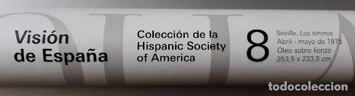 Carteles Toros: POSTER SOROLLA LOS TOREROS SEVILLA 1915 VISION DE ESPAÑA HISPANIC SOCIETY OF AMERICA 66X46 CM - Foto 6 - 115395467