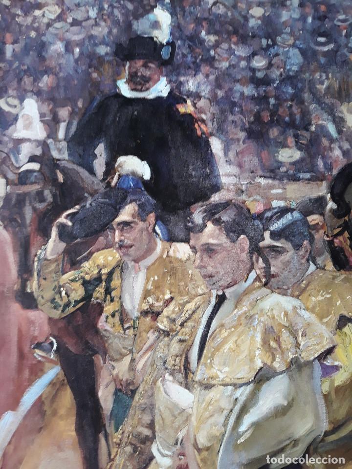 Carteles Toros: POSTER SOROLLA LOS TOREROS SEVILLA 1915 VISION DE ESPAÑA HISPANIC SOCIETY OF AMERICA 66X46 CM - Foto 2 - 115395467