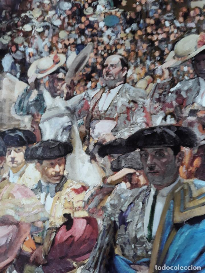 Carteles Toros: POSTER SOROLLA LOS TOREROS SEVILLA 1915 VISION DE ESPAÑA HISPANIC SOCIETY OF AMERICA 66X46 CM - Foto 3 - 115395467