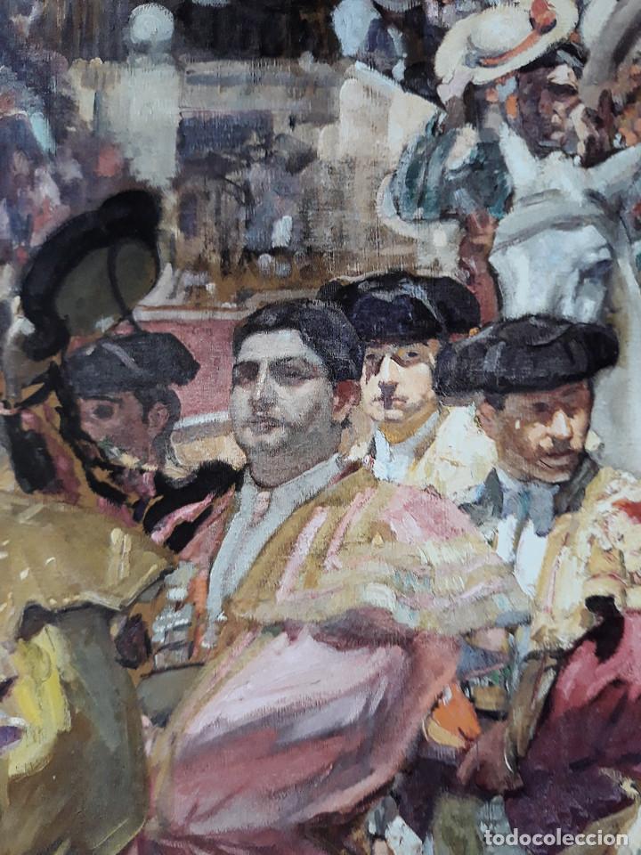 Carteles Toros: POSTER SOROLLA LOS TOREROS SEVILLA 1915 VISION DE ESPAÑA HISPANIC SOCIETY OF AMERICA 66X46 CM - Foto 4 - 115395467