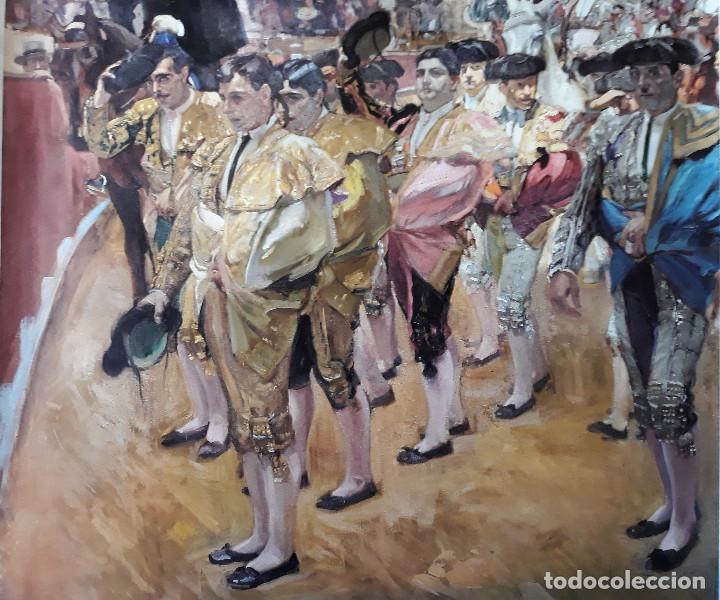 Carteles Toros: POSTER SOROLLA LOS TOREROS SEVILLA 1915 VISION DE ESPAÑA HISPANIC SOCIETY OF AMERICA 66X46 CM - Foto 5 - 115395467