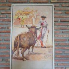 Carteles Toros: CARTEL DE TOROS.BANDERILLAS.C.-104. Lote 116740387