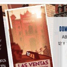 Carteles Toros: CARTEL TOROS MADRID 3 OREJAS ÁLVARO LORENZO ÚNICO!! MUY DIFÍCIL DE ENCONTRAR . Lote 116865607
