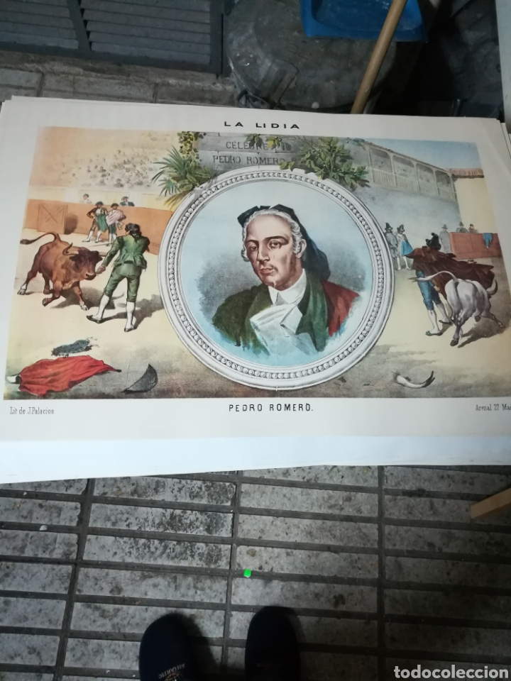 75 LÁMINAS O CARTELES CON MOTIVOS TAURINOS (Coleccionismo - Carteles Gran Formato - Carteles Toros)