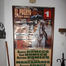 Carteles Toros: CARTEL FESTIVAL TAURINO PUERTO DE SANTA MARIA - 2007.. Lote 119210667