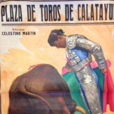 Plakate Stiere - cartel plaza de toros de calatayud. celestino martin. pinto j. reus - 120321779