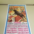 Carteles Toros: 1018- CARTEL PLAZA DE TOROS LAS VENTAS 29 Y 30 JULIO 1995 T17. Lote 120672263