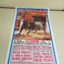 Carteles Toros: 1018- CARTEL PLAZA DE TOROS LAS VENTAS 22 Y 23 JULIO 1995 T18. Lote 120672799