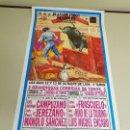 Carteles Toros: 1018- CARTEL PLAZA DE TOROS LAS VENTAS 12 Y 13 OCTUBRE 1996 T20. Lote 120673527