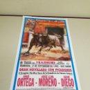 Carteles Toros: 1018-CARTEL PLAZA DE TOROS LAS VENTAS 17 SEPTIEMBRE 1995 T31. Lote 120893007