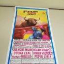 Carteles Toros: 1018- CARTEL PLAZA DE TOROS LAS VENTAS 8 Y 12 OCTUBRE 1995 T-35. Lote 120894607