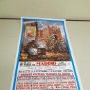Carteles Toros: 1018- CARTEL PLAZA DE TOROS LAS VENTAS FERIA DE OTOÑO 1 Y 12 OCTUBRE 1995 T 37. Lote 120916639