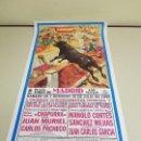 Carteles Toros: 1018- CARTEL PLAZA DE TOROS LAS VENTAS 29 Y 30 JULIO 1995 T38. Lote 120916919