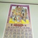 Carteles Toros: 1018-CARTEL PLAZA DE TOROS LAS VENTAS 10 AL 4 DE JUNIO 1991. Lote 120917279