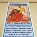 Carteles Toros: 1018- CARTEL PLAZA DE TOROS PARACUELLOS DEL JARAMA 8-9- 10 JUNIO 1992 T48. Lote 120923023