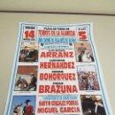 Carteles Toros: 1018- CARTEL PLAZA DE TOROS TORRES DE LA ALAMEDA 14 MARZO 1992 T 50. Lote 120924351